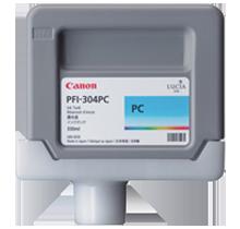 Brand New Original CANON PFI-304PC INK / INKJET Cartridges Photo Cyan