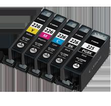 CANON PGI-225 / CLI-226 INK / INKJET Cartridge Set Black x2 Cyan Yellow Magenta