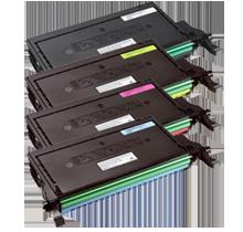 DELL 2145CN High Yield Laser Toner Cartridge Set Black Cyan Yellow Magenta