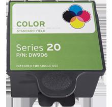 DELL DW906 INK / INKJET Cartridge Tri-Color