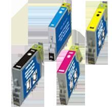 EPSON C63 INK / INKJET Cartridge Set Black Cyan Yellow Magenta