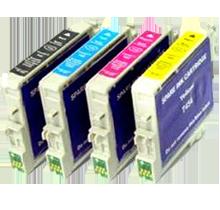 EPSON C67 INK / INKJET Cartridge Set Black Cyan Yellow Magenta