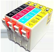 EPSON C84 INK / INKJET Cartridge Set Black Cyan Yellow Magenta