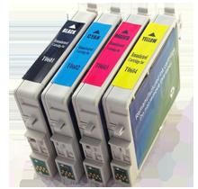 EPSON T060 INK / INKJET Cartridge Set Black Cyan Yellow Magenta