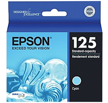 ~Brand New Original Epson T125220 INK / INKJET Cartridge Cyan