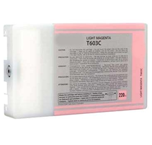 ~Brand New Original EPSON T603C00 INK / INKJET Cartridge Light Magenta