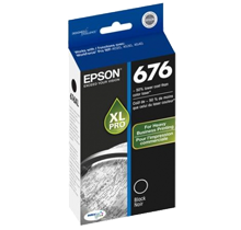 EPSON T676XL120 676XL Cartridge Black