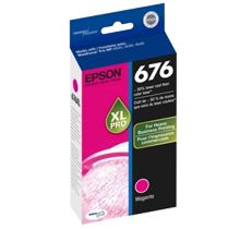 ~Brand New Original EPSON T676XL320 676XL High Yield INK / INKJET Cartridge Magenta