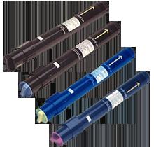Konica Minolta 1710322 Laser Toner Cartridge Set Black Cyan Magenta Yellow