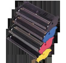 Konica Minolta 2200 Laser Toner Cartridge Set Black Cyan Yellow Magenta