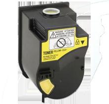 Konica Minolta 4053-501 Laser Toner Cartridge Yellow