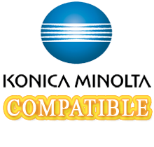 Konica Minolta 5430 / 5440DL / 5450 Laser Toner Cartridge Set Black Cyan Yellow Magenta High Yield