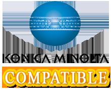 Konica Minolta 6100 / 6110 Laser Toner Cartridge Set Black Cyan Yellow Magenta