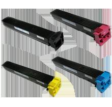 Konica Minolta TN213 Laser Toner Cartridge Set Black Cyan Yellow Magenta