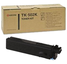 ~Brand New Original KYOCERA MITA TK-502K Laser Toner Cartridge Black