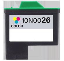LEXMARK 10N0026 #26 INK/ INKJET Tri Color