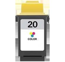 LEXMARK 15M0120 #20 INK / INKJET Tri Color