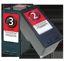 LEXMARK 18C1530 / 18C0190 #2 / #3 INK / INKJET Cartrdige Combo Pack Black Tri-Color