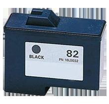 LEXMARK 18L0032 #82 INK / INKJET Black