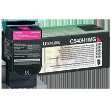 ~Brand New Original LEXMARK / IBM C540H1MG Laser Toner Cartridge Magenta High Yield