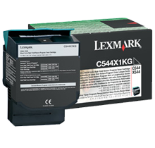 ~Brand New Original LEXMARK / IBM C544X1KG High Yield Laser Toner Cartridge Black