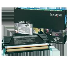 ~Brand New Original LEXMARK C736H1KG Laser Toner Cartridge Black