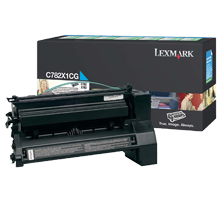 ~Brand New Original LEXMARK / IBM C782X1CG Laser Toner Cartridge Cyan