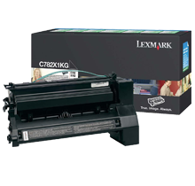 ~Brand New Original LEXMARK / IBM C782X1KG Laser Toner Cartridge Black