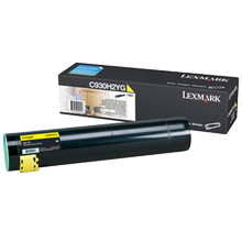 ~Brand New Original LEXMARK / IBM C930H2YG Laser Toner Cartridge Yellow