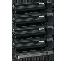 LEXMARK / IBM C752 / C762 High Yield Laser Toner Cartridge Set Black Cyan Yellow Magenta