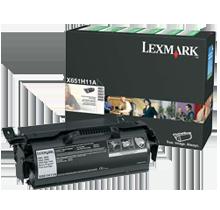 ~Brand New Original LEXMARK X651H11A High Yield Laser Toner Catridge Black