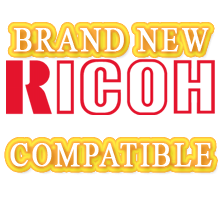 Ricoh 3228C Laser Toner Cartridge Set Black Cyan Yellow Magenta