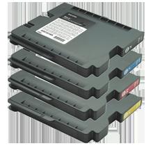 PREMIUM RICOH GX2500 / GX3000 INK / INKJET Cartridge SET Black Cyan Yellow Magent