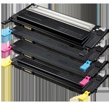 ~Brand New Original SAMSUNG CLP 315 Laser Toner Cartridge Set Black Cyan Yellow Magenta