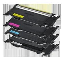 SAMSUNG CLP320 Laser Toner Cartridge Set Black Cyan Yellow Magenta clt-407s