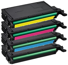 SAMSUNG CLP-770 Laser Toner Cartridge Set Black Cyan Yellow Magenta