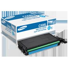 ~Brand New Original SAMSUNG CLT-C508L High Yield Laser Toner Cartridge Cyan