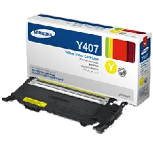 ~Brand New Original SAMSUNG CLT-Y407S Laser Toner Cartridge Yellow