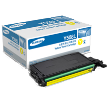~Brand New Original SAMSUNG CLT-Y508L High Yield Laser Toner Cartridge Yellow