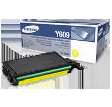 Brand New Original SAMSUNG CLT-Y609S Laser Toner Cartridge Yellow