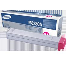 ~Brand New Original SAMSUNG CLX-M8380A Laser Toner Cartridge Magenta