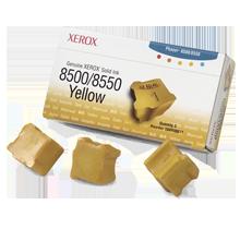 ~Brand New Original Xerox 108R00671 SOLID Ink Sticks (3-PACK) Yellow