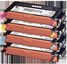 Xerox Phaser 6280 High Yield Laser Toner Cartridge Set Black Cyan Yellow Magenta