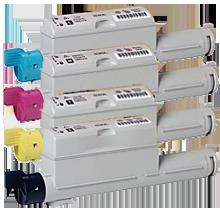 Xerox / TEKTRONIX 6360 Laser Toner Cartridge Set Black Cyan Yellow Magenta High Yield
