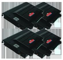 Xerox / TEKTRONIX 6100 High Yield Laser Toner Set Cartridge Black Cyan Yellow Magenta
