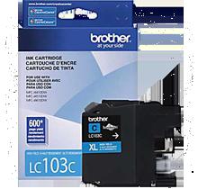 ~Brand New Original BROTHER LC103C INK - INKJET Cartridge Cyan High Yield