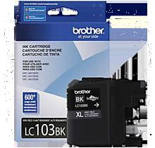 Brand New Original BROTHER LC103BK INK - INKJET Cartridge Black High Yield