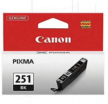 Brand New Original CLI-251BK INK / INKJET Cartridge Black