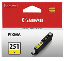 Brand New Original CLI-251Y INK / INKJET Cartridge Yellow