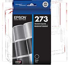 Brand New Original EPSON T273020 (T273) INK / INKJET Cartridge Black